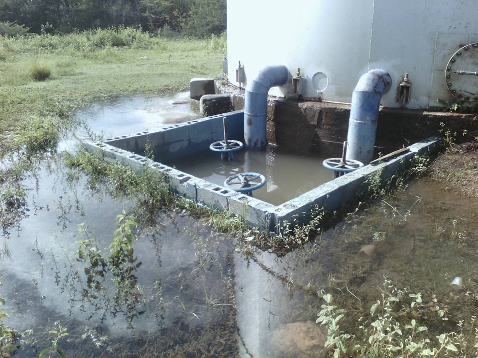 manziyork colapsa tanque de almacenamiento agua potable