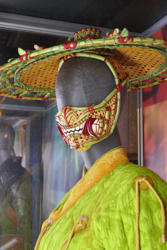 Shang-Chi Li costume hat face mask