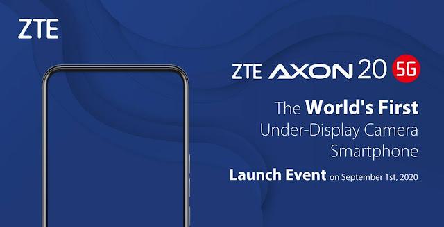 ZTE Axon 20 5G image