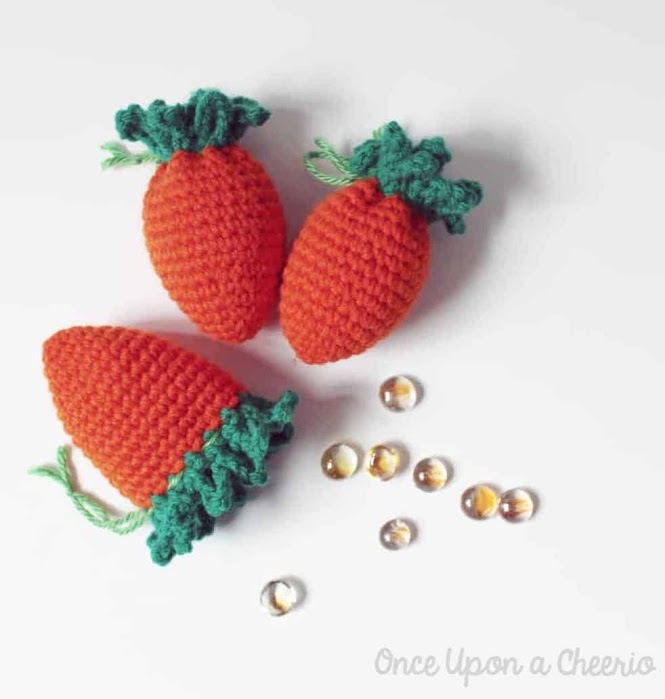 Carrot Easter Egg Cozy FREE Crochet Pattern