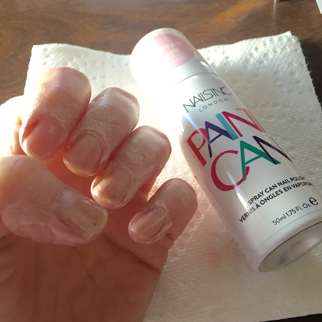 Nails Inc., Nails Inc. Paint Can Spray On Nail Polish Mayfair Lane, spray on nail polish, nails, nail polish, nail lacquer, nail varnish, nail art, manicure, On Wednesdays We Wear Pink