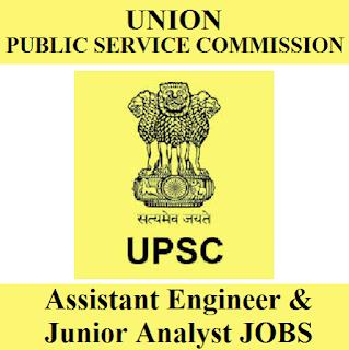 Union Public Service Commission, UPSC, Graduation, Assistant Engineer, Junior Analyst, freejobalert, Sarkari Naukri, Latest Jobs, upsc logo