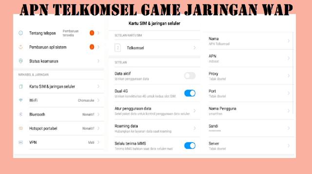 APN Telkomsel Game