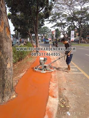 Jasa Trowel Floor Hardener Warna