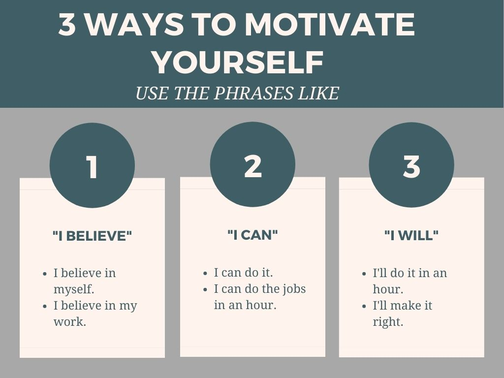 motivation to get over the self doubt feeling?