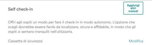 check in automatico airbnb