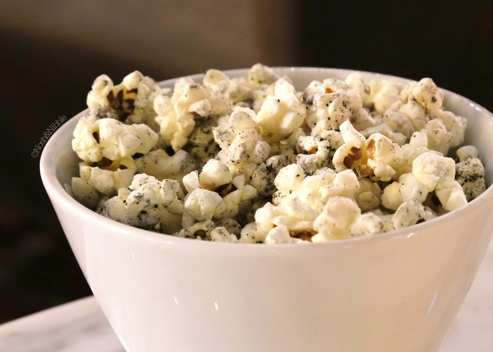 Fairmont Empress | Q Bar Charcoal Popcorn: Review