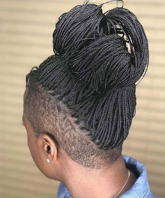 21 Best Badass Braids with Shaved Sides for Black Women
