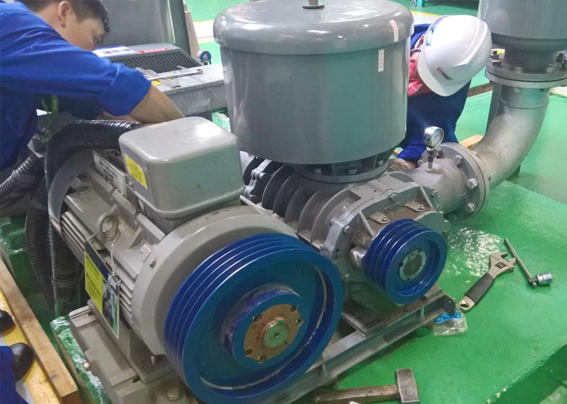 Sửa máy thổi khí Shinmaywa ARS 150 - CTY SAMSUNG VN