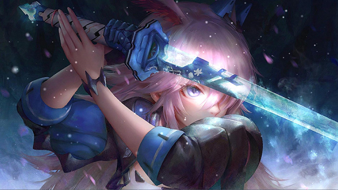 Yae Sakura Wallpaper Engine