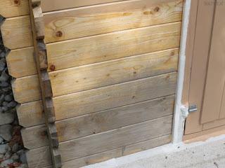 peinture sur bois grisé 1