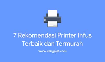 rekomendasi printer infus