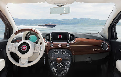 Fiat 500 Riva Dashboard