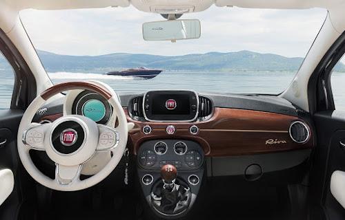 Fiat 500 Riva Dashboard