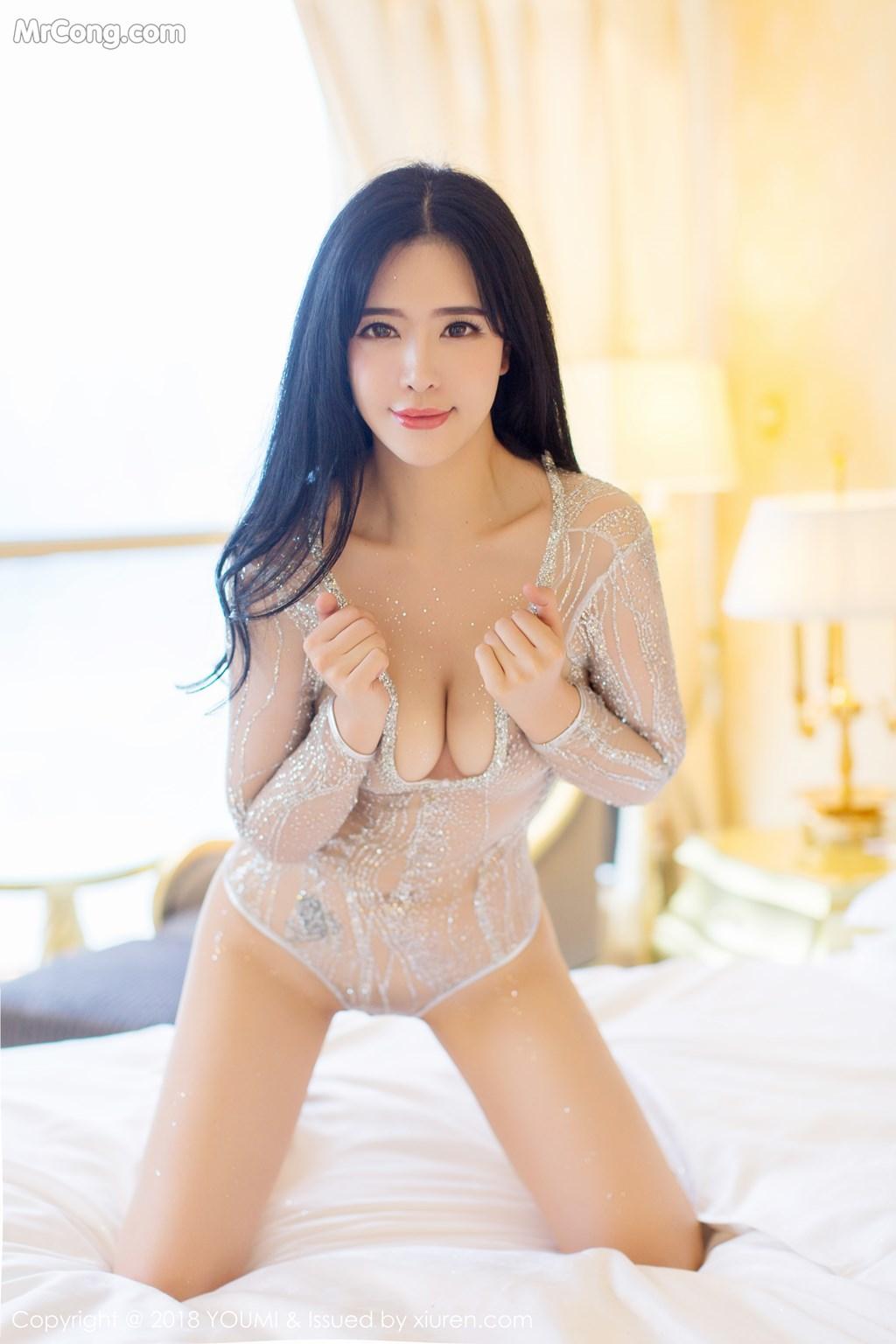 Image YouMi-Vol.124-Liu-Yu-Er-MrCong.com-009 in post YouMi Vol.124: Người mẫu Liu Yu Er (刘钰儿) (41 ảnh)