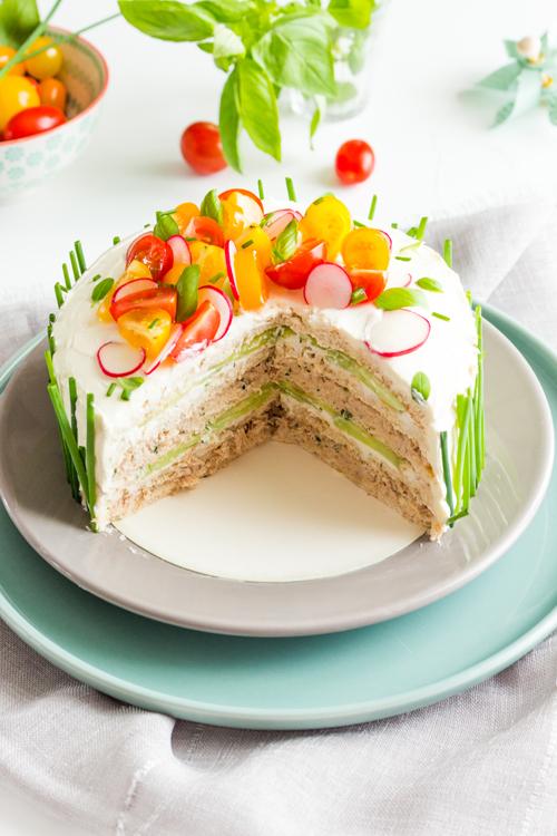 moi, gourmande ?: sandwich cake au thon