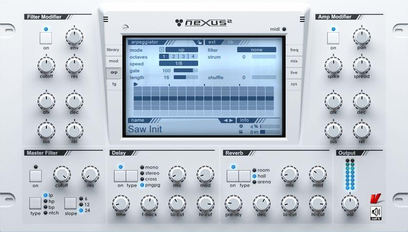 refx nexus osx
