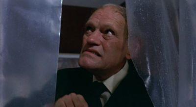 Harry Andrews, shower scene murder