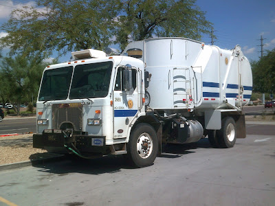 Salt River Pima-Maricopa Indian Community Garbage Truck
