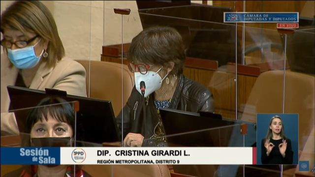 Diputada Cristina Girardi