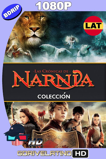 Las Crónicas de Narnia (2005-2010) Colección BDRip 1080p Latino-Ingles MKV
