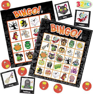 halloween games idea bingo