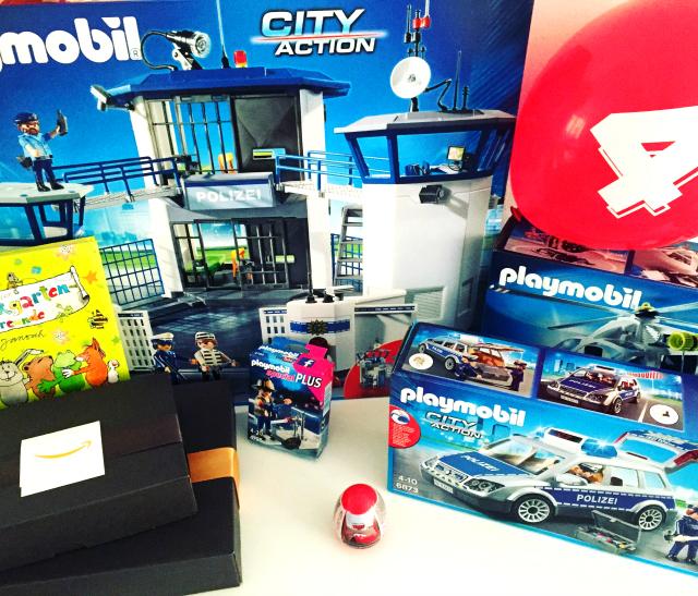 Geschenke zum vierten Geburtstag - Playmobil, Playmobil, Playmobil