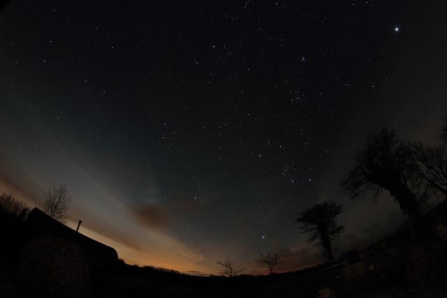 Dark skies in Wales