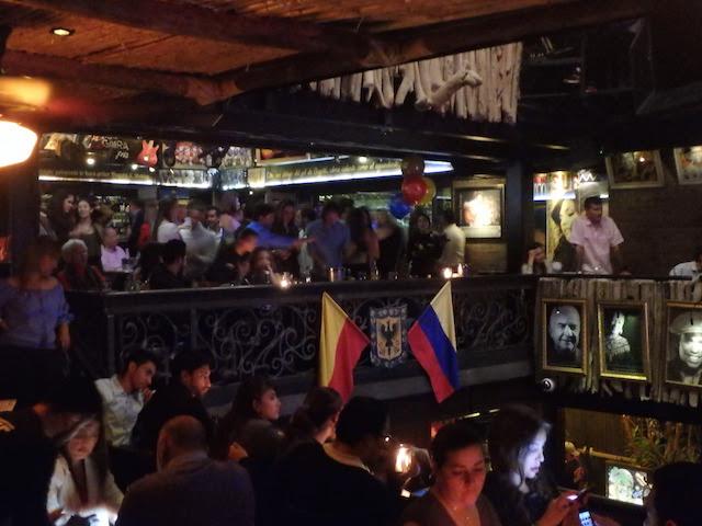 Gaira Café, Bogota, Colombia