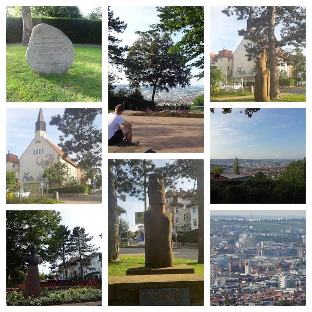 Mirantes e vistas panorâmicas de Stuttgart - Santiago-de-Chile-Platz