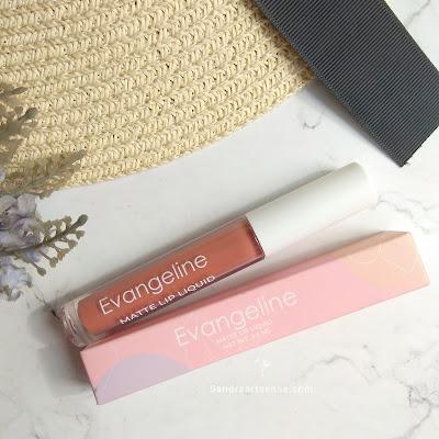 Review lip cream Evangeline