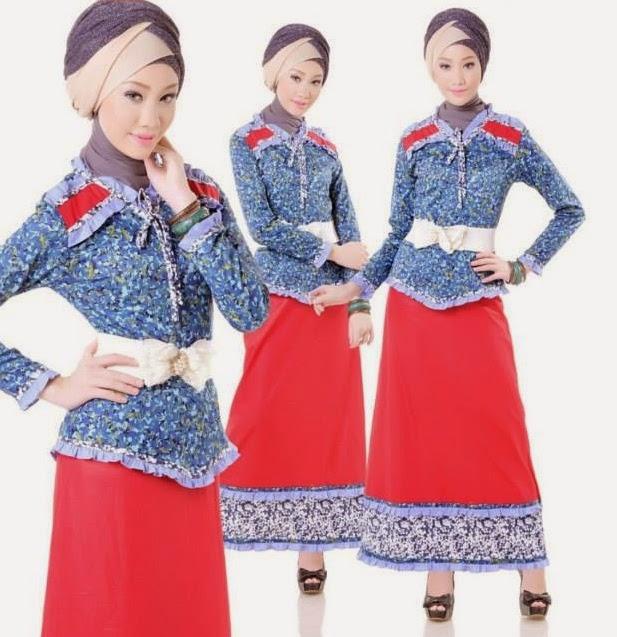 Model busana muslim remaja muslimah desain trendy terbaru saat ini