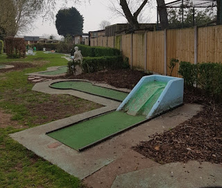 Crazy Golf at Fletchers Family Garden Centre in Eccleshall, Stafford