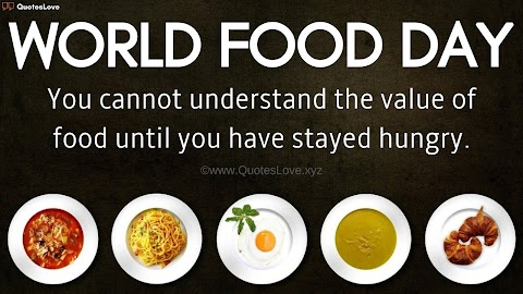 33+ [Best] World FOOD Day 2020: Quotes, Sayings, Slogan, Wishes, Greetings, Images, Pictures, Poster