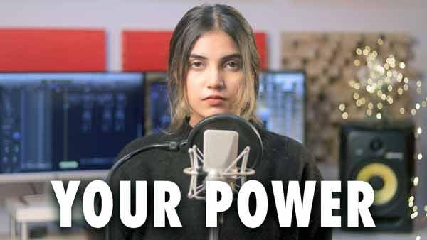 your power cover aish billie eilish