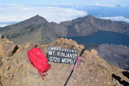 Berjalan dan Belajar di Gunung Rinjani