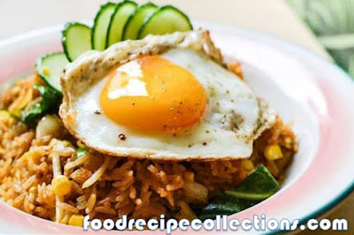 SIMPLE FRIED RICE WITH EGG