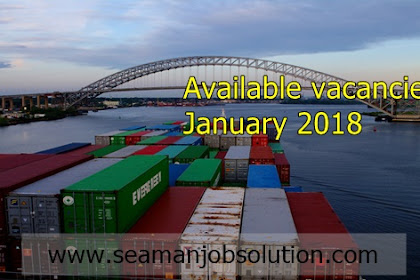 Required crew for oil tanker, bulk carrier, container, ahts