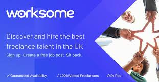 Worksome freelancing site from UK approve freelancer only from UK, USA, Denmark hence less competition