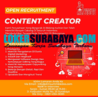 Open Recruitment at Dimsum Bledos Surabaya September 2020