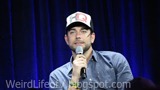 Zachary Levi - Hitman 47 panel at Nerd HQ - Outside  San Diego Comic Con 2015