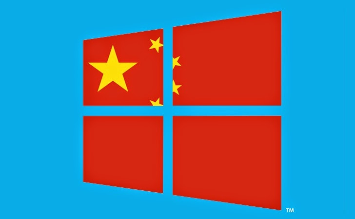 China Bans Microsoft Windows 8 for Government Computers