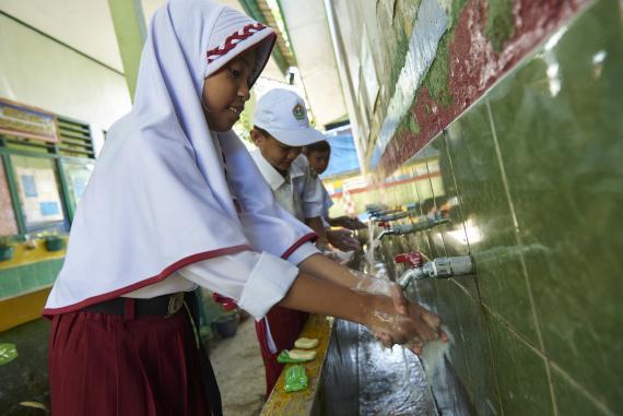 Dukungan Unicef - WASH