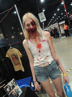walking dead zombie cosplay