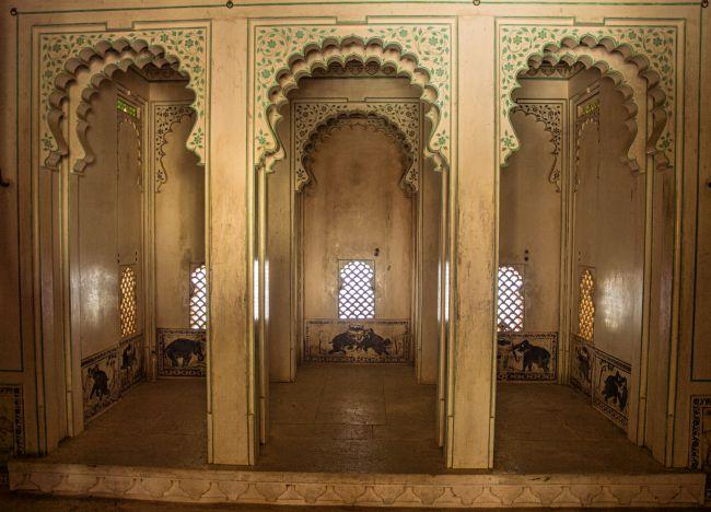 Zenana Section oa Badal Mahal