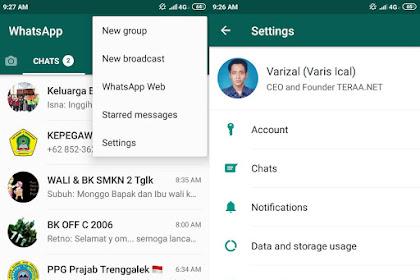 Cara Mengatur WhatsApp Kelihatan Offline Meskipun Online