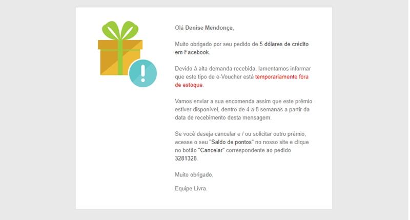 Denise Mendonça, Denise Mendonça Blog, Livra Pesquisa, não indico