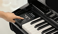Kawai DG30 digital mini grand piano digital interface display