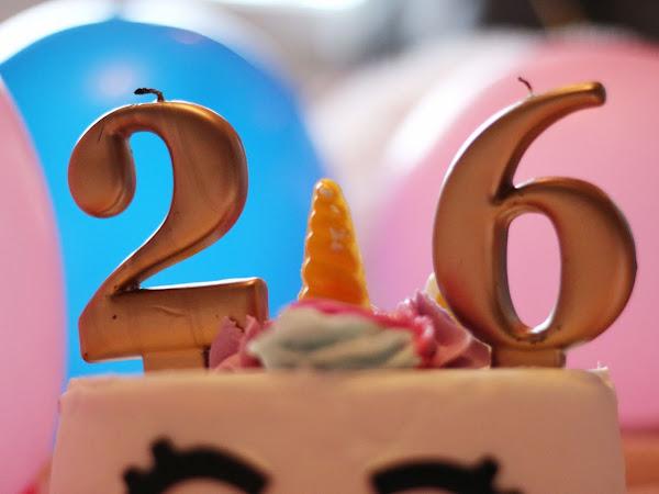 26 things in 26 years