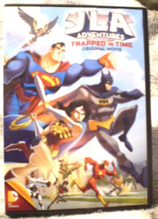 JLA Adventures: Trapped In Time DVD cover